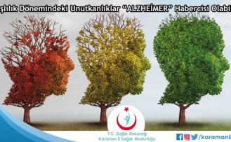 """Yaşlılık Dönemindeki Unutkanlıklar """"Alzheimer"""" Habercisi Olabilir!"""
