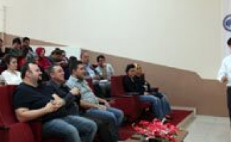 KMÜ'de 'Biyonanorobotik' Konferansi