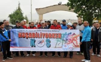 Koşabiliyorken Koş Projesi Kapsamında Sağlıklı Yaşam Yürüyüşü Yapıldı