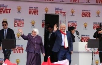 Başbakan Yıldırım: Karaman Evet Diyerek İşi Çoktan Bitirmiş