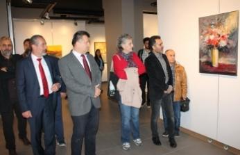 "Medaş Sanat Galerisi'nde ""Benden İzler"" Resim Sergisi"