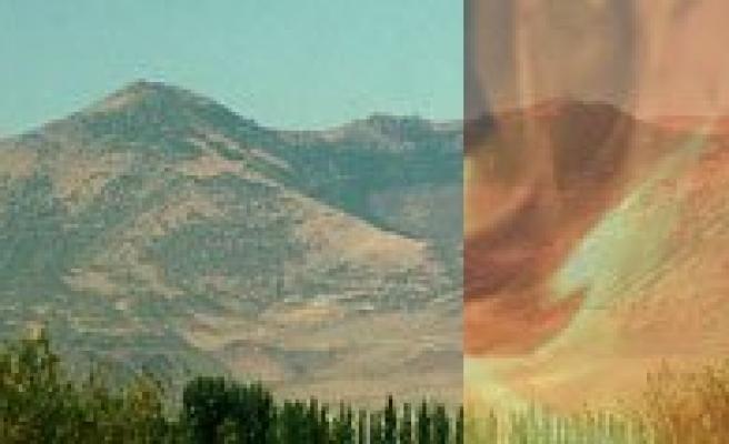 Karadag'daki Yangin Korkuttu