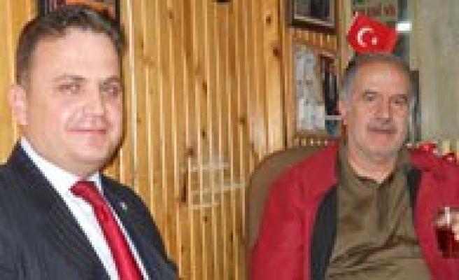 Ak Parti Merkez Ilçe Baskani'ndan KGRT'ye Ziyaret