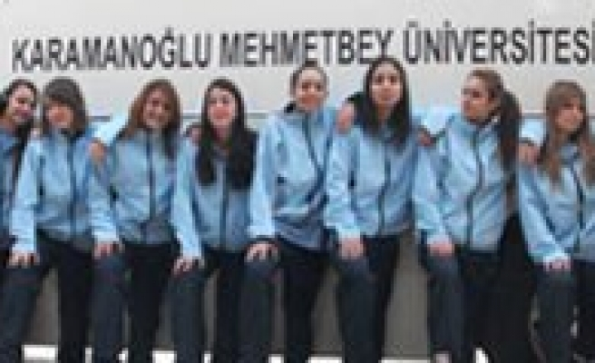 KMÜ Bayan Basketbol Takimi 1. Lige Yükseldi