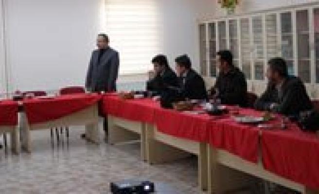 Özel Gevher Hatun Koleji'nden Basin Mensuplarina Kahvalti