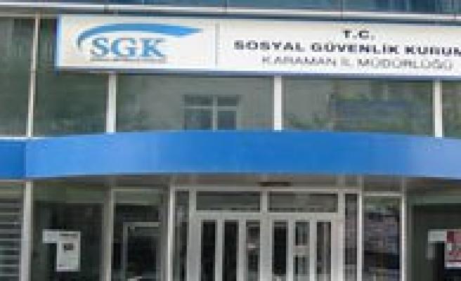 SGK Icralik Borçlari Havuza Aktarmaya Basladi