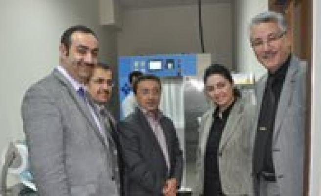 Agiz Ve Dis Sagligi Merkezi'ne Sterilizasyon Makinesi Alindi