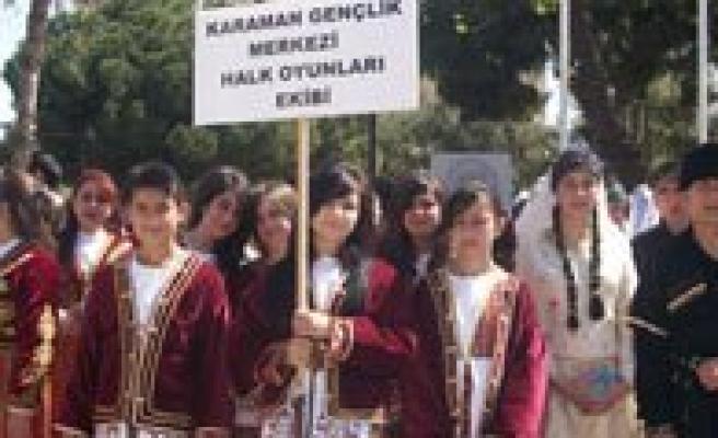 Gençlik Merkezim Türk Halk Müzigi Ve Halk Oyunlari Ekibinden Büyük Basari