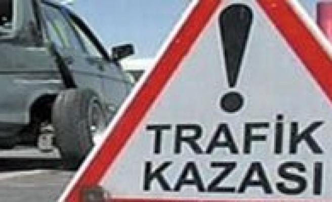 Trafik Kazasinda 1 Kisi Yaralandi