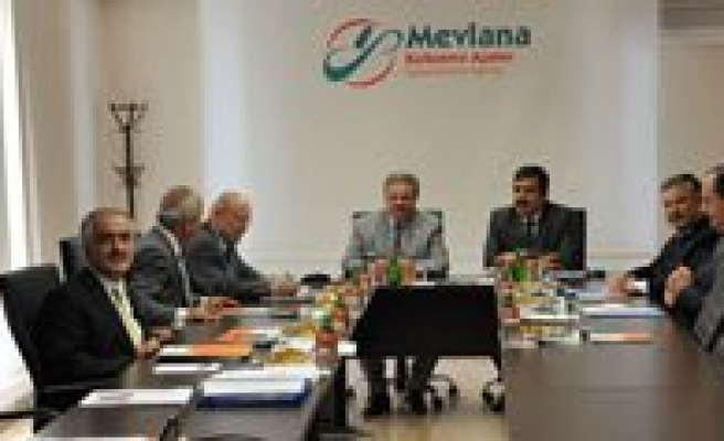 Mevlana Kalkinma Ajansi (Mevka) Konya`da Toplandi