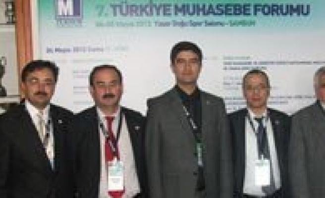7.Türkiye Muhasebe Forumu Samsun'da Yapildi