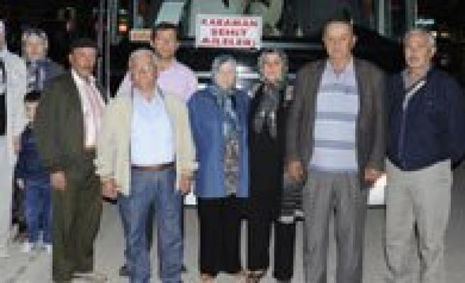 Sehit Aileleri Çanakkale'ye Ugurlandi