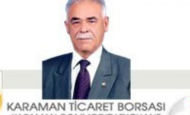 Karaman Ticaret Borsasi TS ISO 10002 Müsteri Memnuniyeti Ve Sikâyet Yönetimi Belgesi'ni Aldi