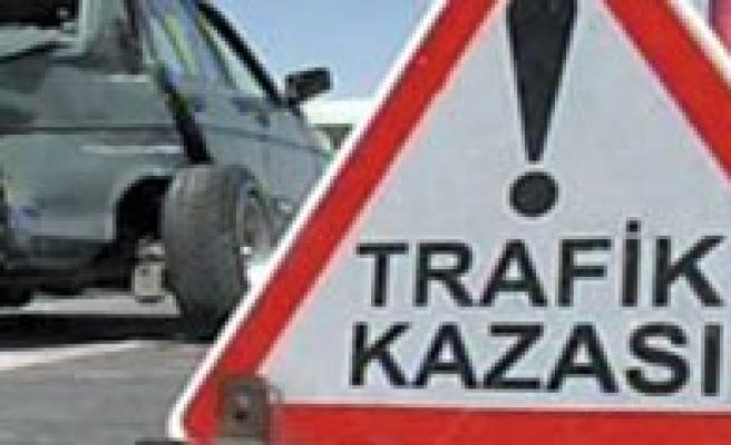 Ermenek`te Trafik Kazasi: 1 Ölü
