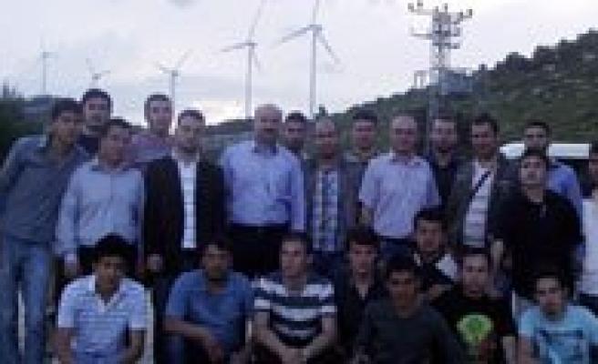 Ermenek MYO Teknik Gezi Düzenledi