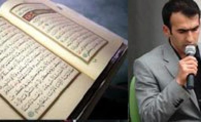 `Ezbere Kur`an-I Kerim Okuma Yarismasi` Bölge Finali Ilimizde Yapildi