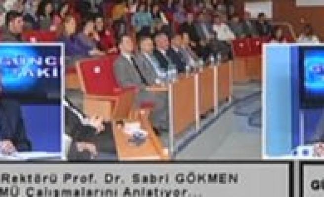 """KMÜ rektörü prof. Dr. Sabri Gökmen: """"Üniversiteye Hizmet Etmek En Büyük Erdemlerden Biridir"""""""