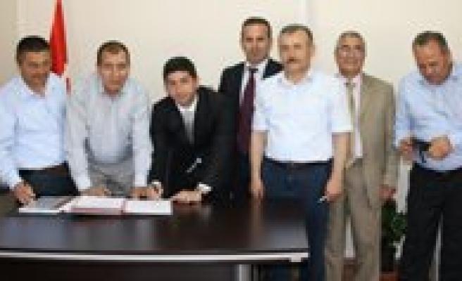 OSB'de Dogalgaz'dan Elektrik Çevrim Santrali Için Protokol Imzalandi