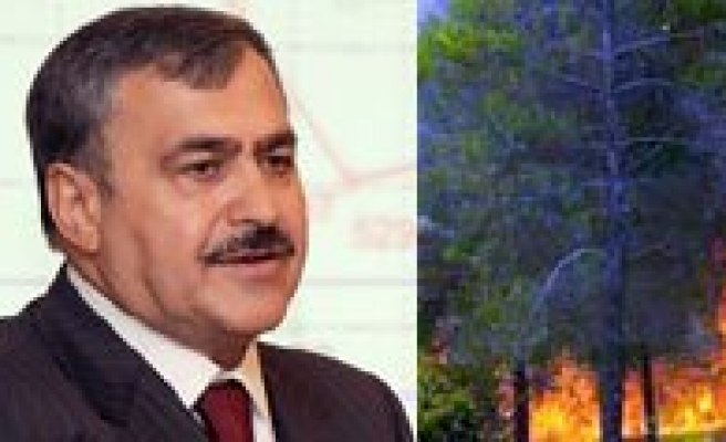 Bakan Eroglu `Yangin Riski Bulunan Illeri` Açikladi. Riskli Iller Arasinda Karaman'da Var