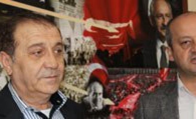 """CHP Il Baskani Ertugrul: """"Milli Iradeye Özgürlük Istiyoruz"""""""