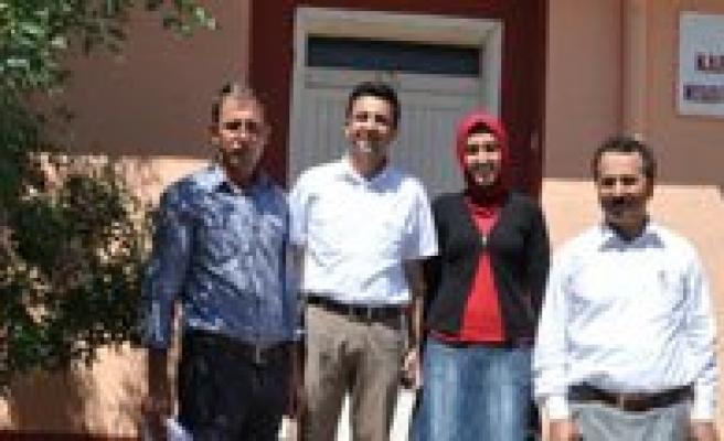 Köy Saglik Evlerini Ziyaret Ettiler