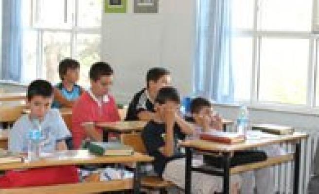 Il Milli Egitim Müdürü Bekir Aksoy Mavi Tirtil Yaz Okulunu Ziyaret Etti