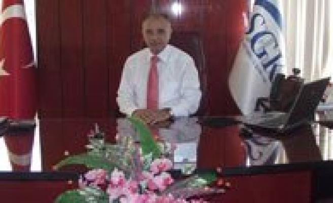 SGK Il Müdürü Hüseyin Akdere Görevine Basladi