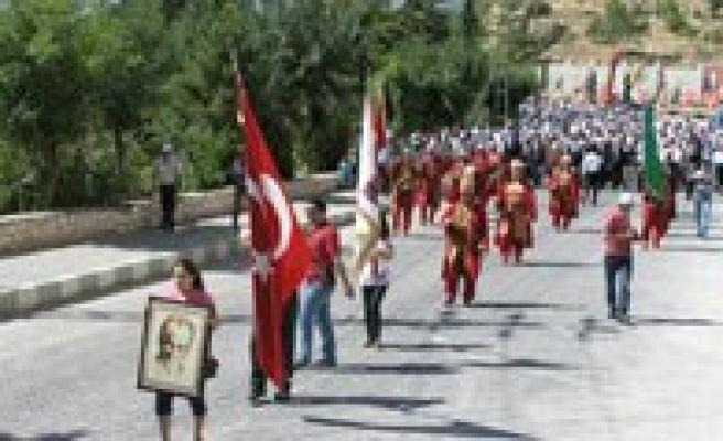 Ermenek'te 18. Taseli Kültür, Sanat ve Sila Festivali Basladi