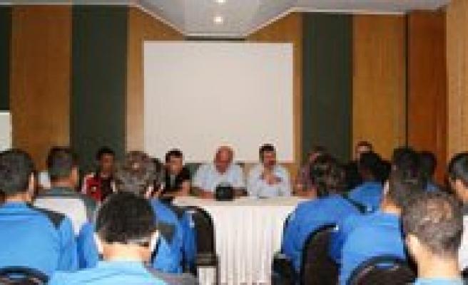 Belediye Spor Yönetiminden Kampa Moral Ziyareti