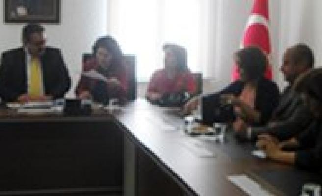 CHP Kadin Kollari Baskani Hilal Dokuzcan`dan KTSO`ya Ziyaret