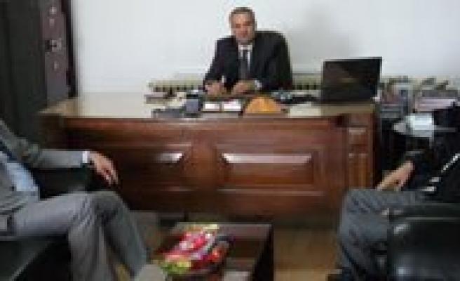 Aydogdu, Basakspor'u Ziyaret Etti