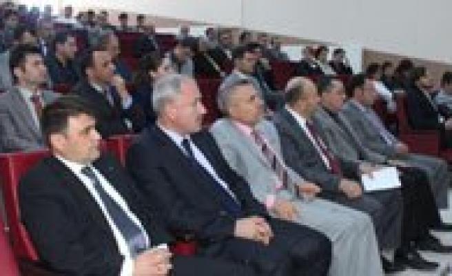 """KMÜ'de """"Sürdürülebilir Enerji Eylem Plani"""" Açilis Programi Yapildi"""