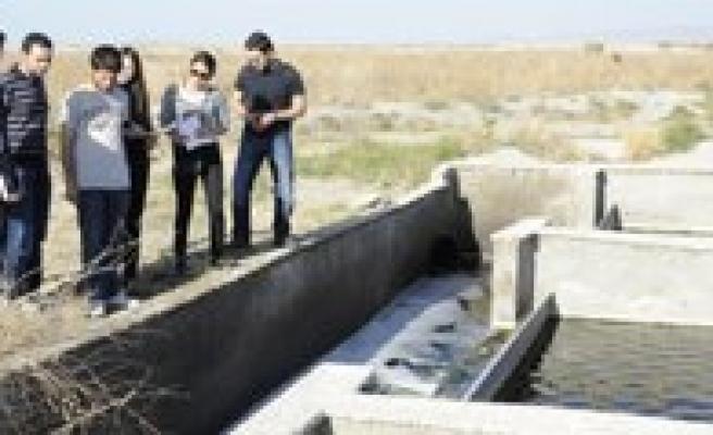 Karaman Belediyesi ODTÜ'den Gelen Ögrencileri Agirladi
