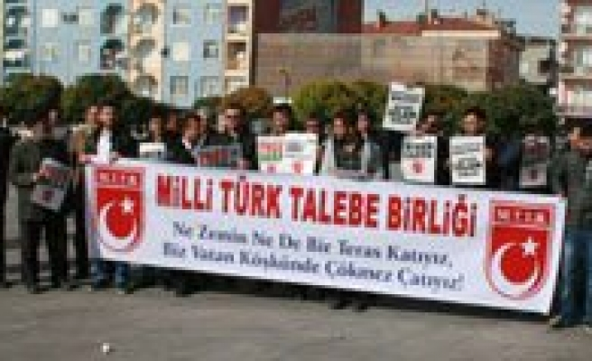 Karaman'da Israil Protesto Edildi