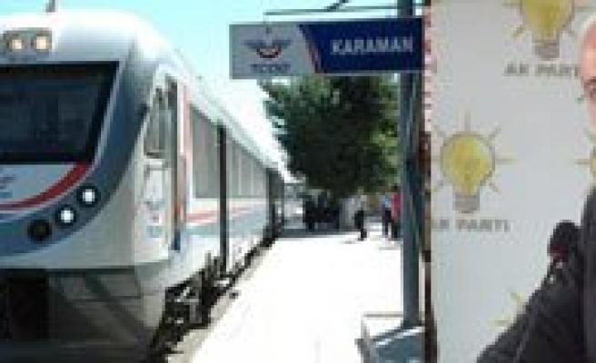 Karaman-Konya Hizli Tren Ihalesi Aralik Ayinda Yapilacak