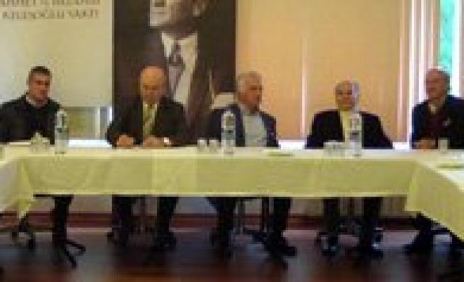 Erçev'in Bütçe Toplantisi Istanbul'da Yapildi
