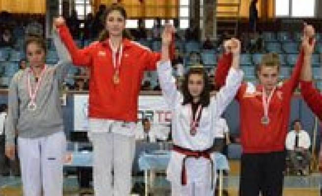 Karaman Taekwondo'su Madalyalara Doymuyor