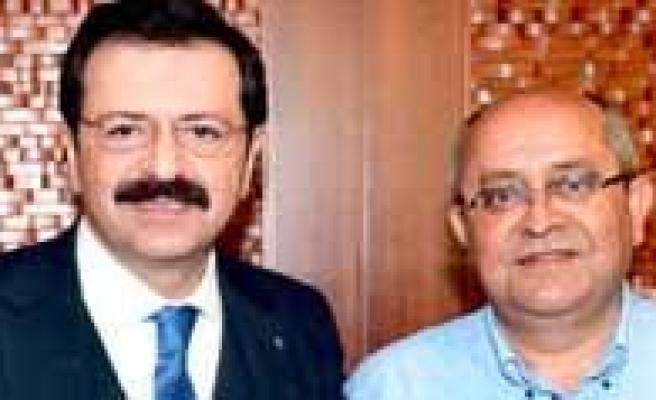 Toktay'dan Hisarciklioglu'na Ziyaret