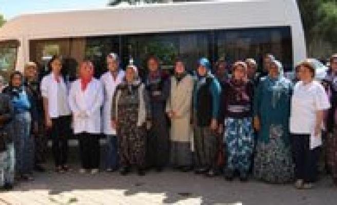 Çoglu Ve Morcali Köylerindeki Bayanlar Ketem'de Bulustu