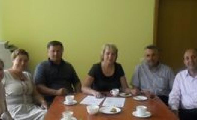 KMÜ'nün Rektör Yardimcilari Litvanya'da