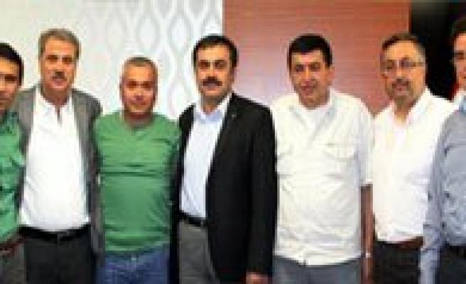 Konya Oda Baskanlari Karaman'daydi