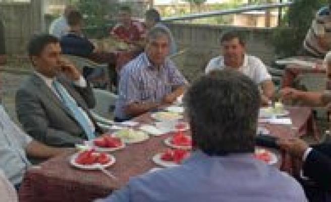 Bakan Yardimcisi Sever'den Mutlular Dernegine Ziyaret