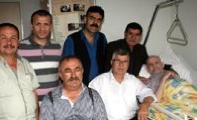 Hollanda'daki En Yasli Hemserimize, Bizbize'den Ziyaret