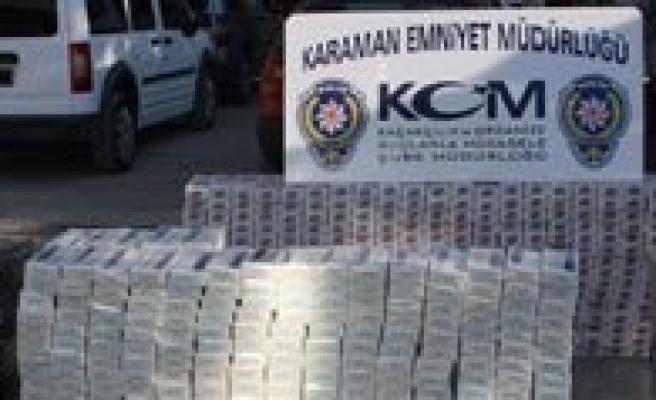 Kaçak Sigara Operasyonunda 16 Bin 240 Paket Ele Geçirildi