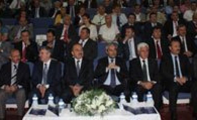 Kamu-Üniversite-Sanayi Isbirligi Toplantisi Konya'da Yapildi