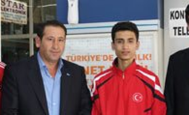 Balkan Sampiyonu Sporcumuza Ödül