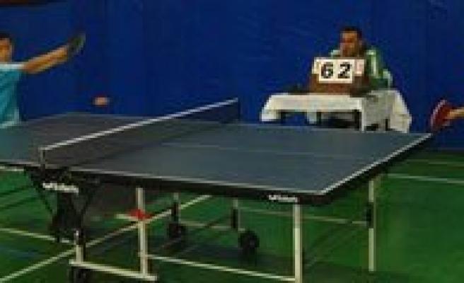 Cumhuriyet Kupasi Masa Tenisi Maçlari Basliyor