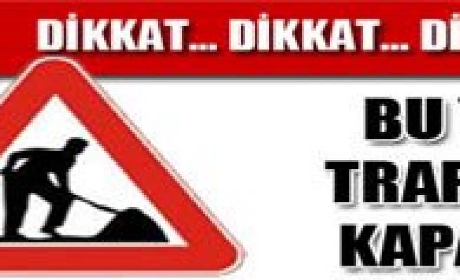 Boyalik-Yerbag Köy Yollari Trafige Kapatildi