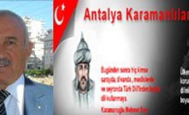 Antalya Karamanlilar Dernegi Baskanligina Yüksel Seçildi
