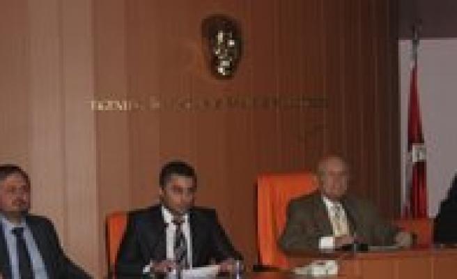 Belediye Meclisi'nin Kasim Ayi Toplantilari Basliyor